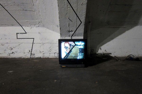 BORDERS - Dreiecke Video-installation @ Tacheles www.vimeo.com/borders