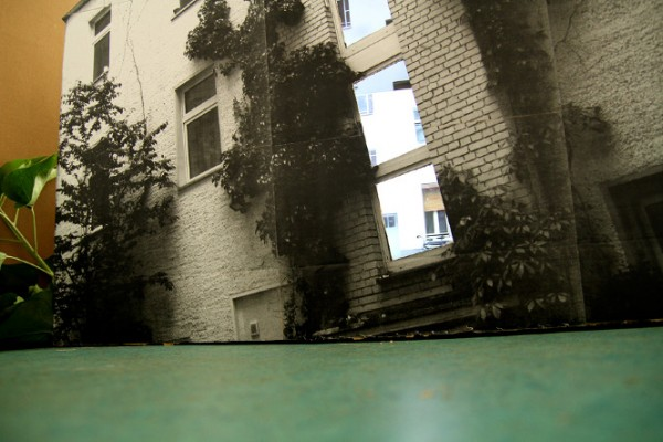 A HOUSE WITH A VIEW - Dreiecke Installation 48h NK