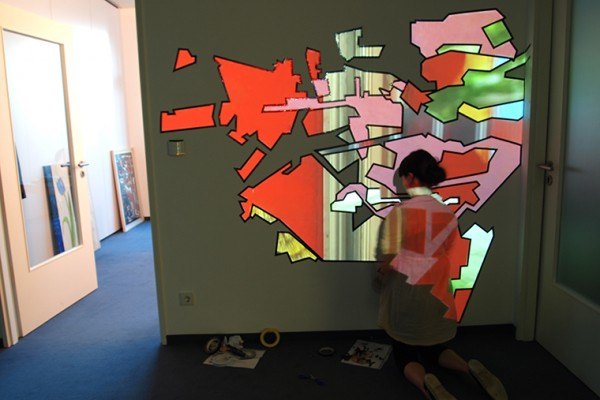 H2MK Video-installation - Dreiecke